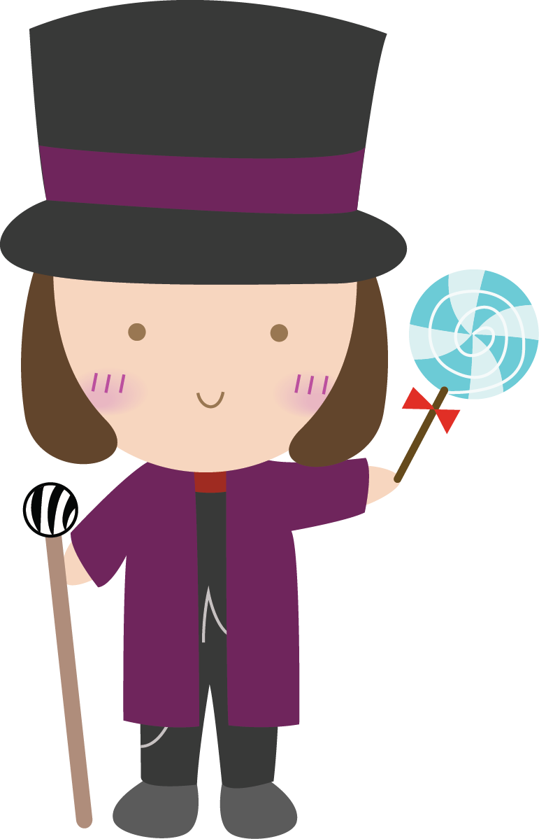 willy wonka and the chocolate factory clip art.