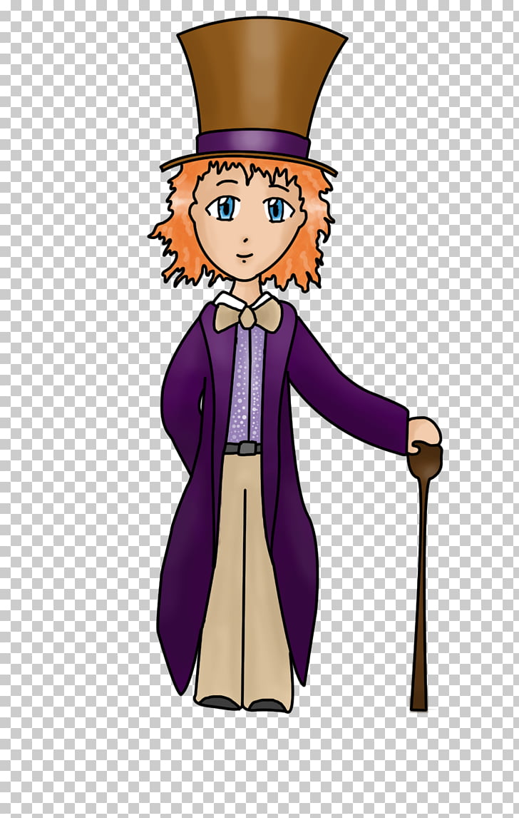 Human behavior Costume design , willy wonka PNG clipart.