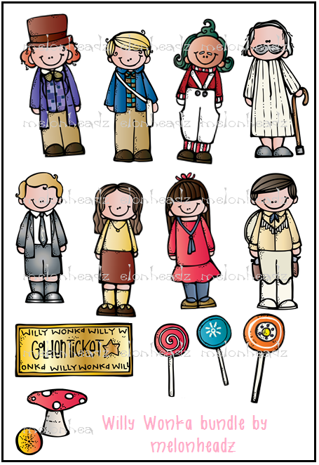 Clipart Of Charlie And The Chocolate Factory.