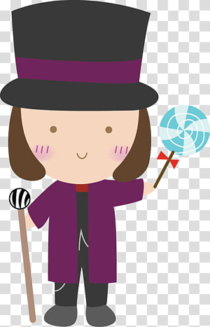 Charlie and the Chocolate Factory transparent background PNG.