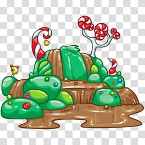 Cartoon Waterfall, Chocolate, River, Willy Wonka, Willy.