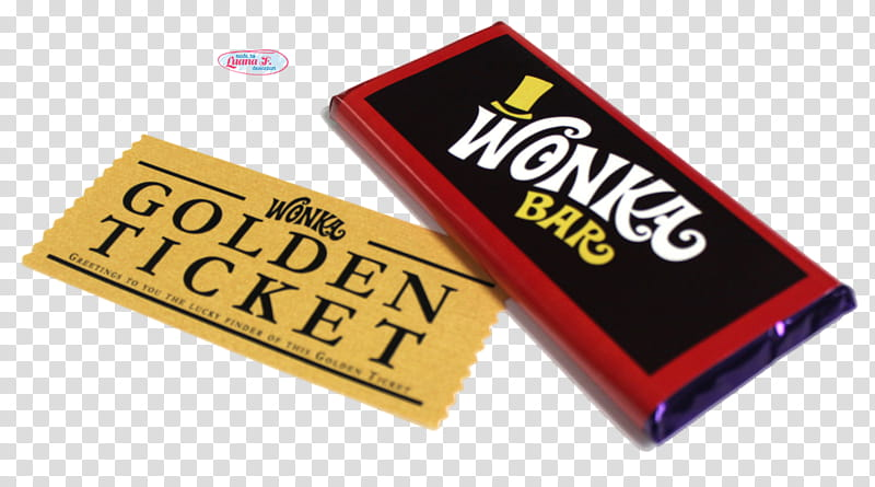 Wonka Bar transparent background PNG cliparts free download.