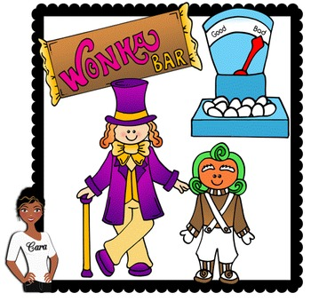 Clip Art ~ Free Willy Wonka Mini.