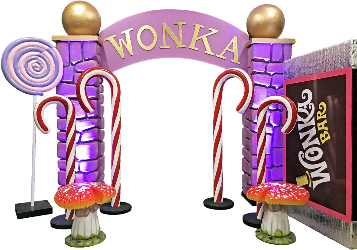 Willy Wonka Package Clipart.