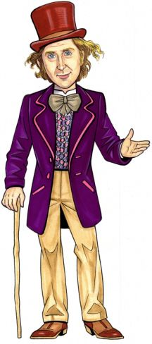 104+ Willy Wonka Clip Art.