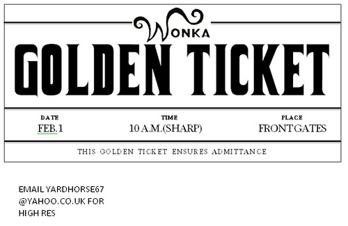 Wonka Golden Ticket Template Group with 68+ items.