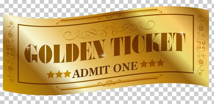 Willy Wonka Golden Ticket YouTube Raffle PNG, Clipart, Audience.