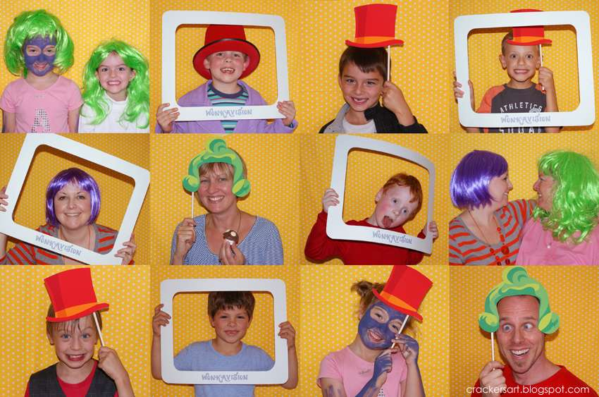 Willy Wonka and the Chocolate Factory Birthday Party Ideas.