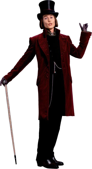 Willy Wonka png by Amelka.