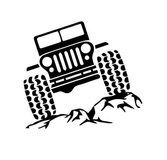 Willys Jeep Clipart.