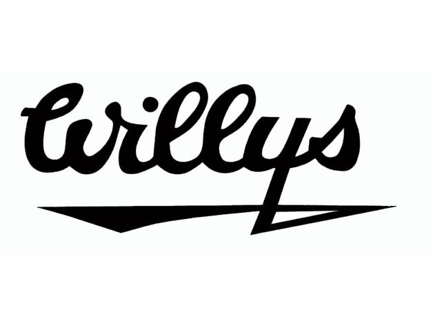Willys Jeep Logo.