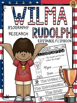 BLACK HISTORY: BIOGRAPHY: WILMA RUDOLPH.