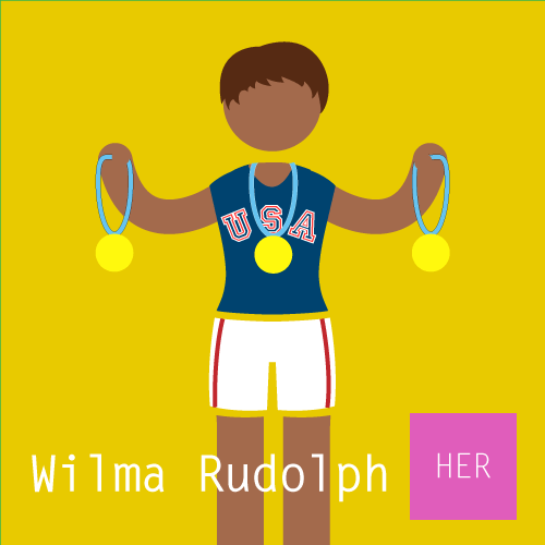 Wilma Rudolph — Equality for HER.
