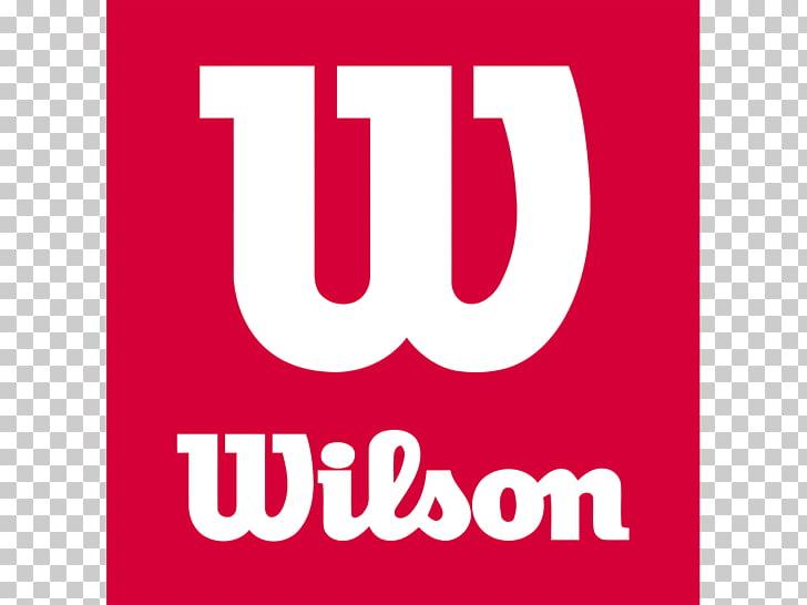 Wilson Sporting Goods Tennis Balls Logo Racket, brand PNG.