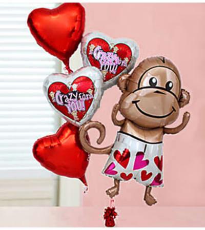 Crazy for You Balloon Bundle.