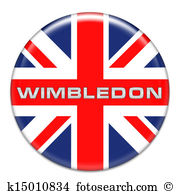 Wimbledon Clipart and Stock Illustrations. 132 wimbledon vector.