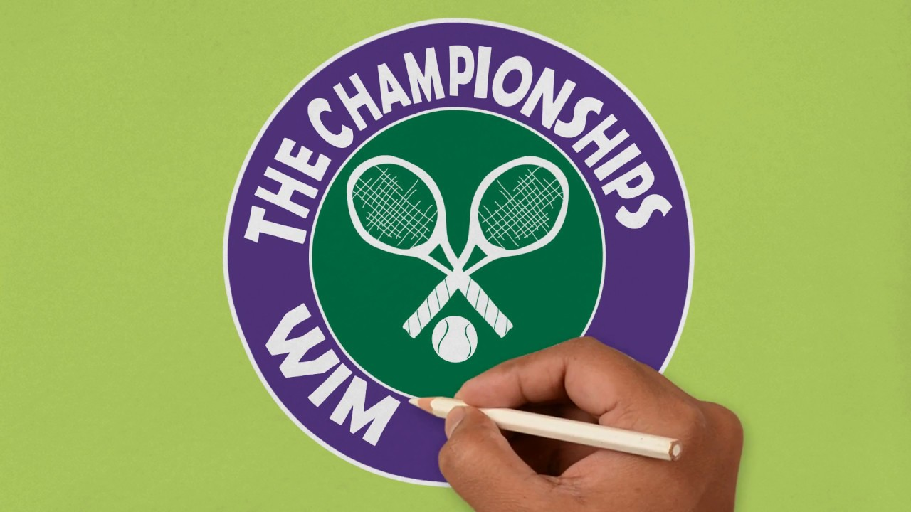The Championships Wimbledon logo.