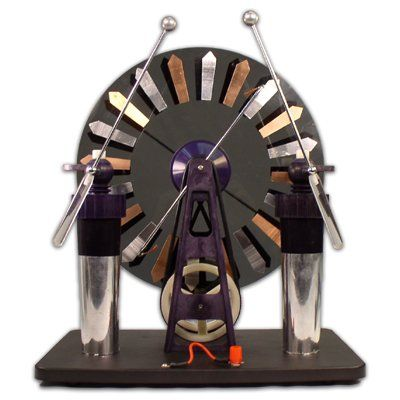 Wimshurst Machine, Deluxe, 2015 Amazon Top Rated Electroscopes.