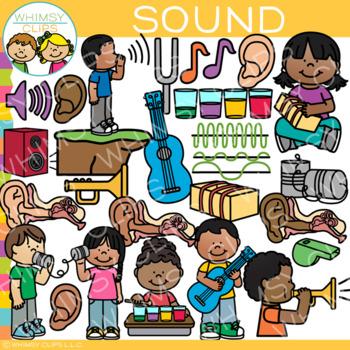 Sound Clip Art {Form of Energy Clip Art}.