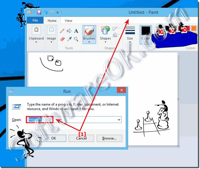 Windows 10 clipart wont open.