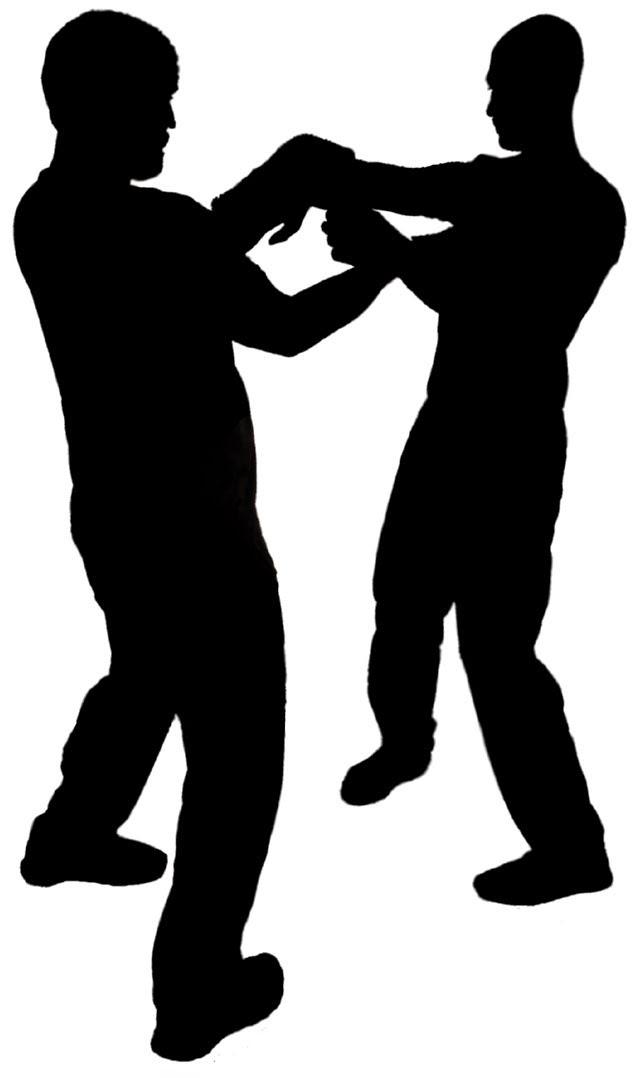File:Wing Chun Chi Sao outline.jpg.