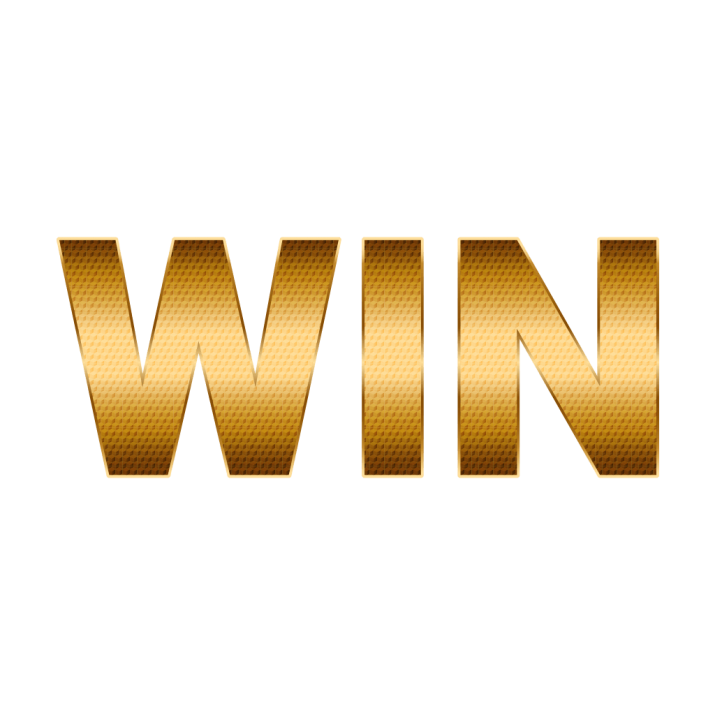 Win Golden Text PNG Image Free Download searchpng.com.