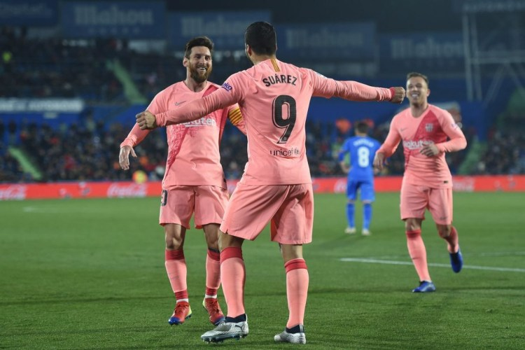 Getafe vs Barcelona, La Liga: Final Score 6.
