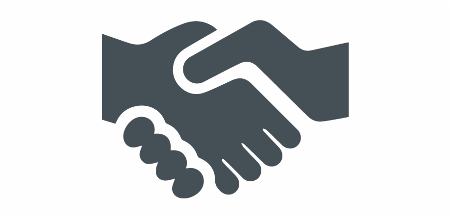Grey Clipart Handshake Win Win Icon Png.