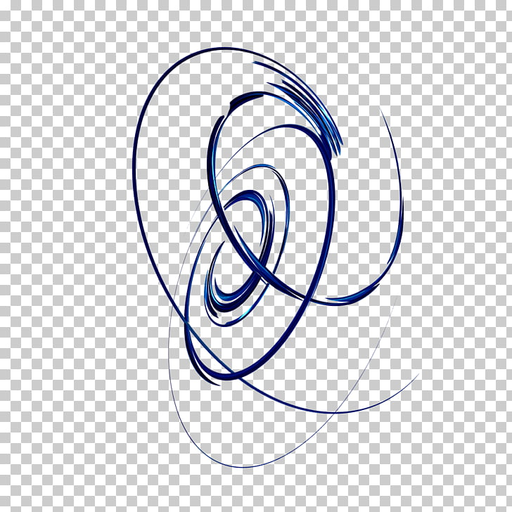 Spiral Blue, wind PNG clipart.