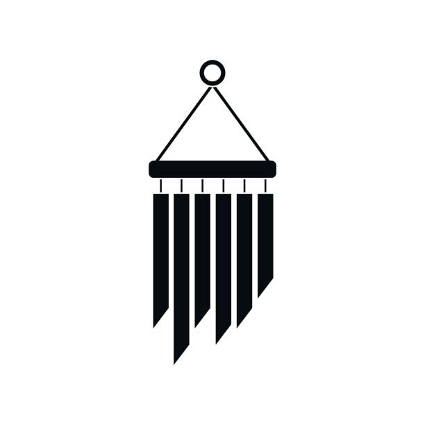 Best Wind Chime Illustrations, Royalty.