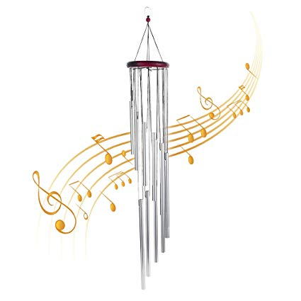 Urban Deco Wind Chimes Outdoors Amazing Grace Wind Chimes Amazing Grace  Chimes 12 Roots Aluminum Tubes Wind Chimes for Garden Patio Backyard Home.