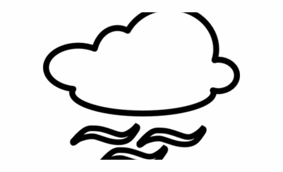 Wind Clipart Black And White, Transparent Png Download For Free.