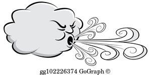 Wind Gust Clip Art.