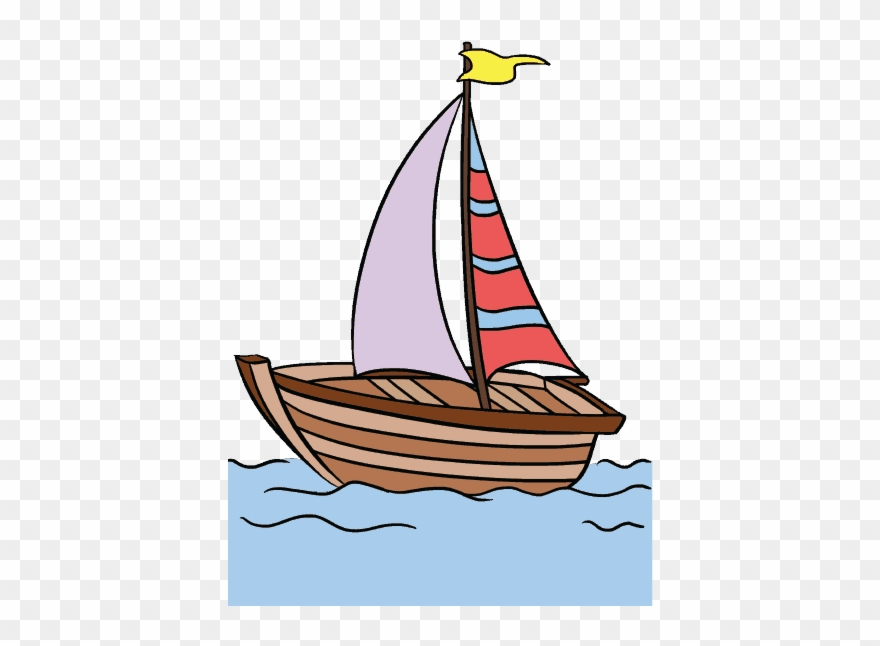 Graphic Black And White Library Boats Clipart Wind.