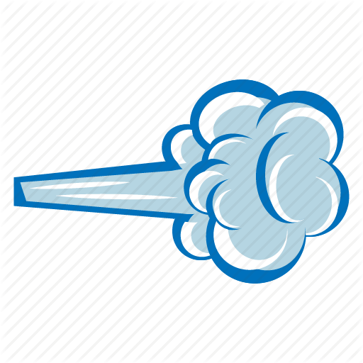 Wind Cloud Clip art.