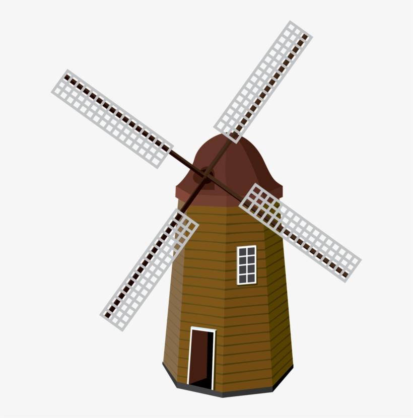 Windmill Public Domain Wind Turbine Pinwheel.