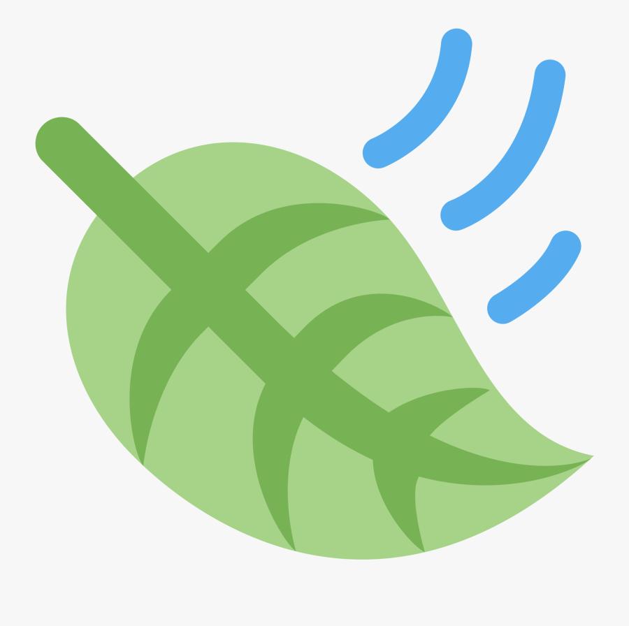 Leaf Fluttering In Wind.
