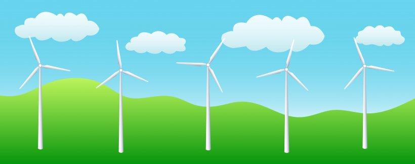 Wind Farm Wind Turbine Wind Power Renewable Energy Clip Art.
