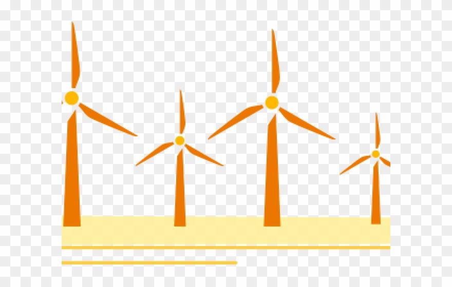 Wind Turbine Clipart Solar Wind Energy.
