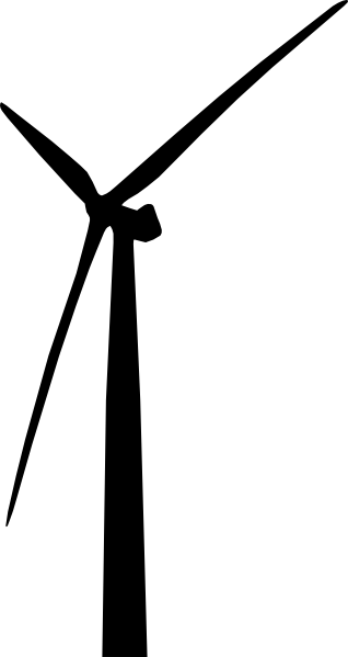 Wind Turbine Farm Clip Art.