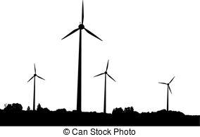 Wind turbine Vector Clipart Illustrations. 5,469 Wind turbine clip.