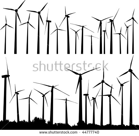 Wind Turbine Stock Images, Royalty.