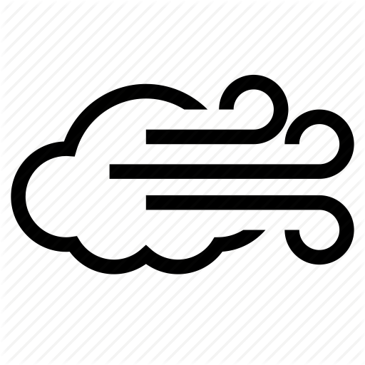 Wind Icon Png #399629.