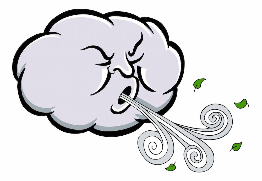 Windy Clipart Best Clip Art Collection Better Wind Casual 6.