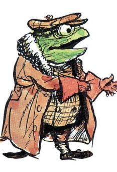 The tragedy of Mr Toad: Wind in the Willows author\'s own son.