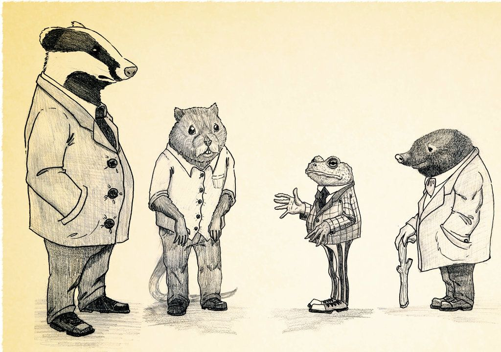 The Wind in The Willows by JekaSilverBear in 2019.