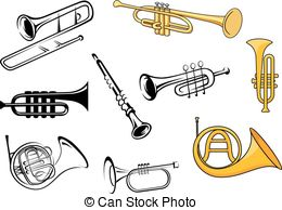 Wind instruments Vector Clipart Illustrations. 2,771 Wind.