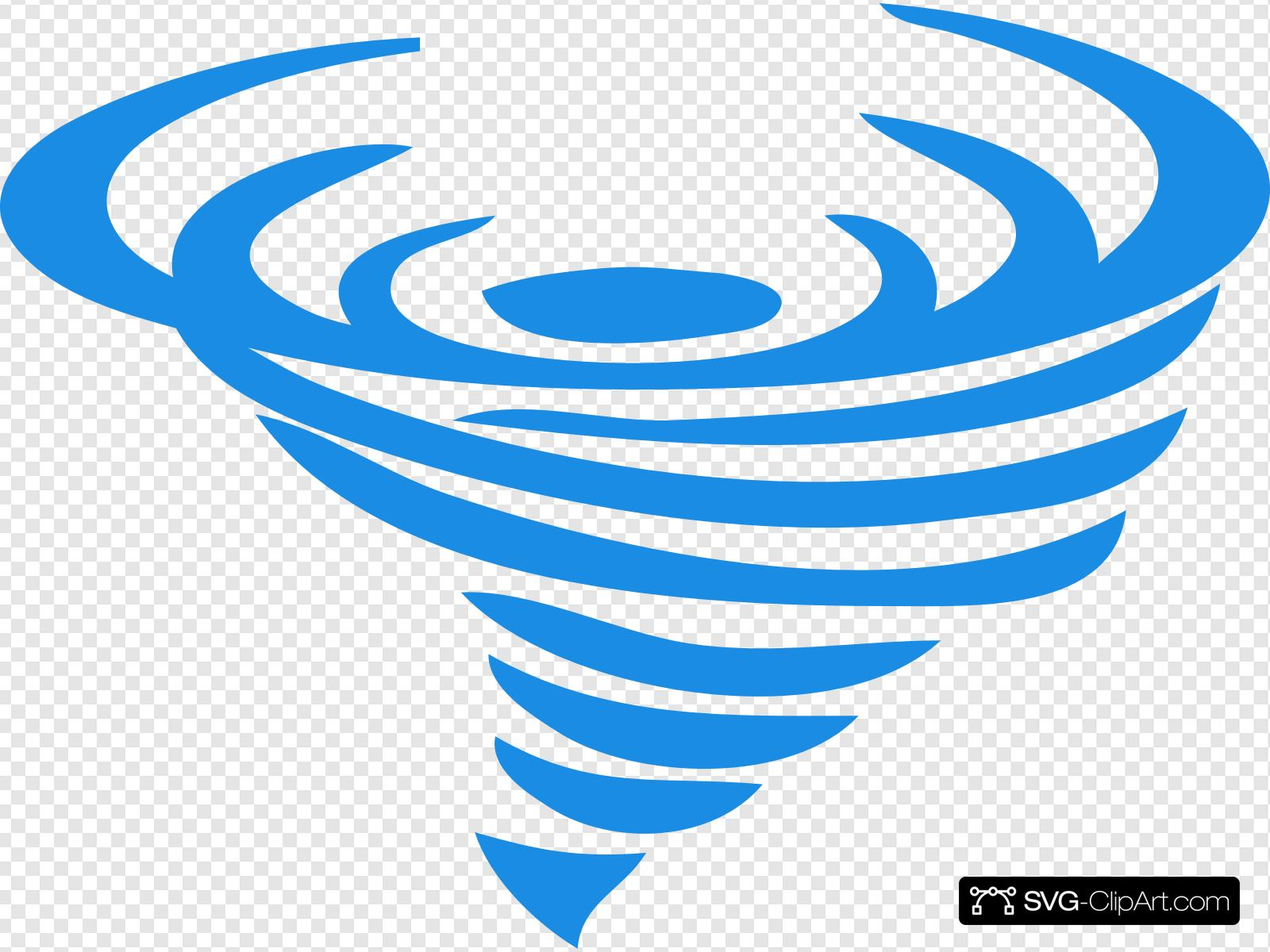 Blue Wind Logo Tp Clip art, Icon and SVG.