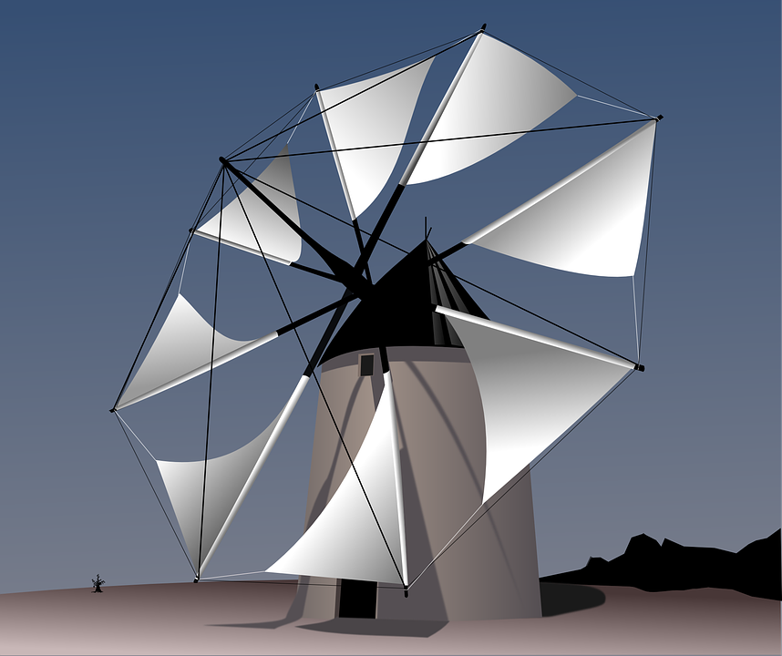 Free photo Machine Rotation Wind Energy Energy Windmill Wind.