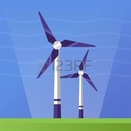 30,609 Wind Power Stock Vector Illustration And Royalty Free Wind.